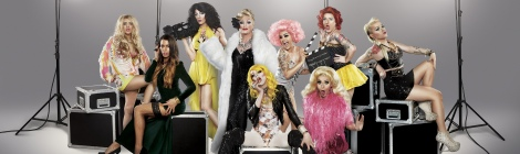Cast of Drag Queens of London