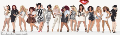 RuPaul's Drag Race Season 7 cast